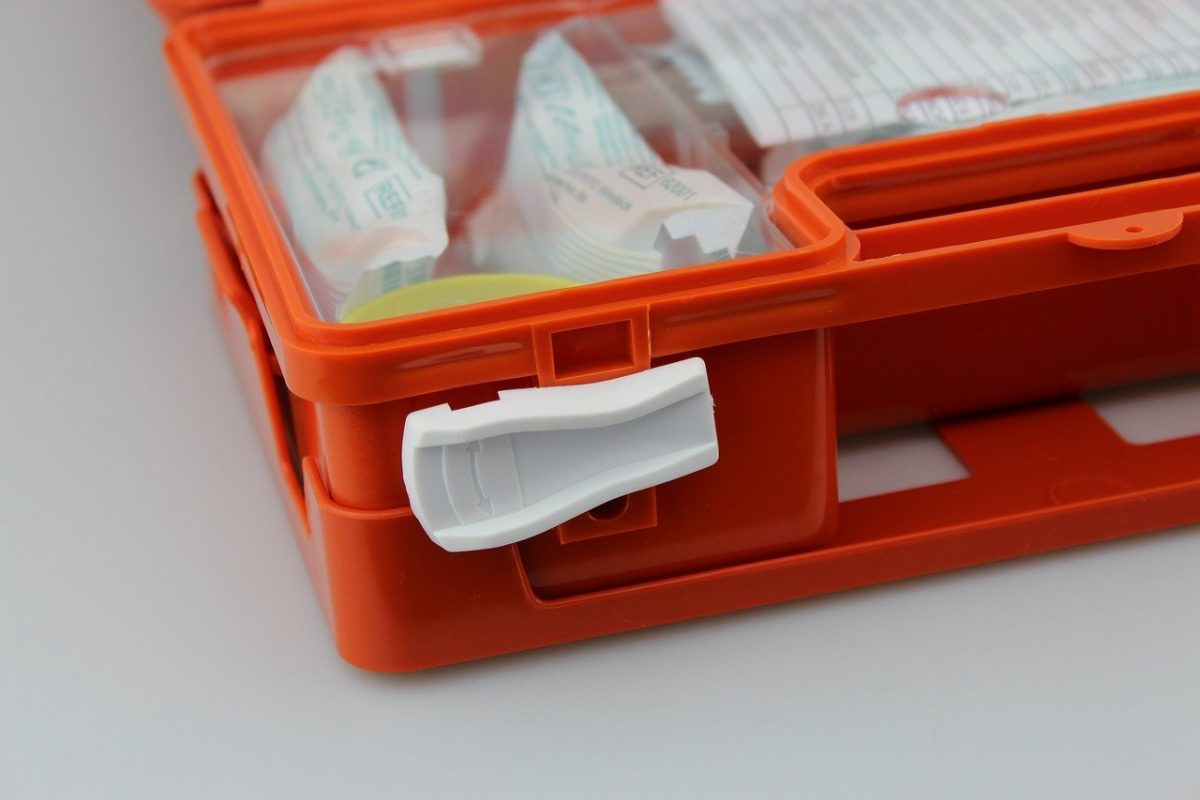 O que deve conter o Kit de Primeiros Socorros